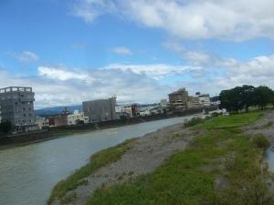 人吉の球磨川